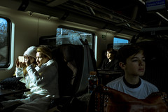 This Is A Place #5 (Levan Kakabadze) Tags: light train photography italy bologna venezia people sun winter