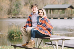 Justin & Kayla Full Size (10 of 33) (This_is_JEPhotography) Tags: engagement cute couple proposal shoot photography photographer georgia south carolina north augusta brick pond hammonds ferry bokeh outdoors cold southern scarf focus smile sony alpha jphotography
