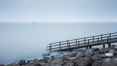 Cold II (Scott Baldock) Tags: southend sea long exposure seascape colour mood atmosphere ethereal jetty cold winter blue snow 10 stop canon 5diii essex