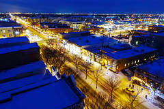 Whyte Avenue at night, Edmonton 2016 (Gord McKenna) Tags: gord mckenna metterra meterra hotel whyte avenue edmonton ab canada bgc street