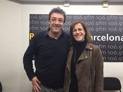 Gerard Jofra y Silvía Sabaté