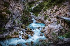 In der Gleirschklamm (Stephan Harmes) Tags: isar tirol österreich austria gleirschbach felsen wasser brücke holz blau rocks bridge blue water river travel reise urlaub landschaft landscape