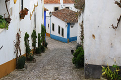 Obidos (hans pohl) Tags: portugal obidos streets rues houses maisons architecture villes cities