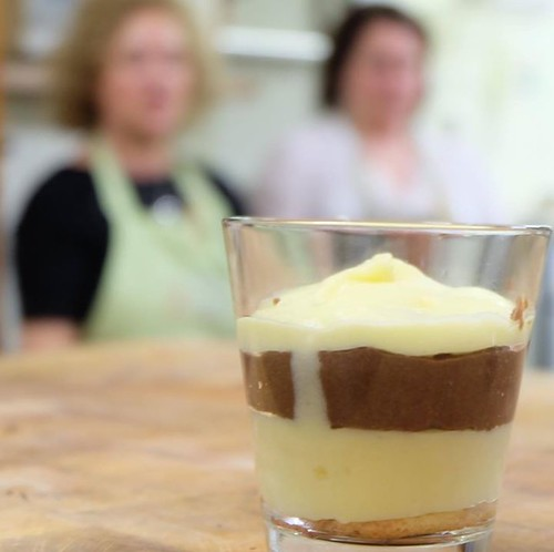 Zuppa inglese a modo #incontridigusto #incucinaconfranca #kitchenclass #cookinglesson