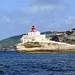 Bonifacio (2A), le phare de la Madonetta