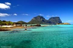 Mt Lidgbird & Mt Gower From Lord Howe Island Wharf, NSW (Black Diamond Images) Tags: coral island paradise australia wharf nsw lordhoweisland worldheritagearea mtgower wharfprecinct mtlidgbird thelastparadise blackburnisland lordhoweislandwharf
