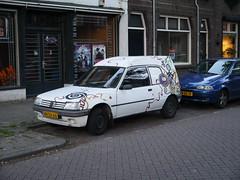 Peugeot 205 Commercial 1.8D Terberg 1996 (929V6) Tags: van peugeot 205 peugeot205 terberg peugeot205terberg grijskenteken 205van peugeot205van sidecode5 vhsx66 205terberg