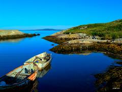 Peggy's Cove Row Boats II (kenmojr) Tags: ocean sea canada water nova boat marine cove row atlantic maritime scotia peggys topaz