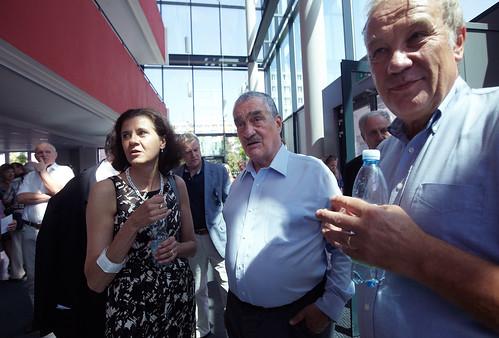 Marta Smolíková, Karel Schwarzenberg a Martin Palouš