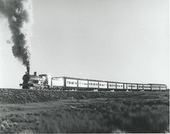 3203 past Roslyn S104 Crookwell Passenger 15-7-1978 (highlandrob306) Tags: c32 3203 nswgr c32class