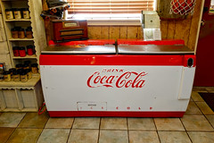 Antique Coke cooler (mrgraphic2) Tags: antique indiana coke cocacola cooler