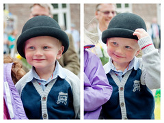 Arvid (AChristiansdotter) Tags: boy summer portrait people cute hat gteborg happy person kid nikon sweden gothenburg happiness d90 tamron2875mmf28 287528