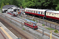 Conwy valley railway museum 14th June 2014 (John Eyres) Tags: museum y tram railway valley betws coed conwy