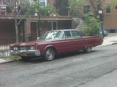 1967 Chrysler 300 (Vintage car nut) Tags: street old nyc cars car vintage photography 1960s chrysler 300 spotting