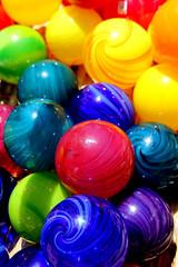 Colored Spheres (Slideshow Bruce) Tags: color glass oregon eugene sphere