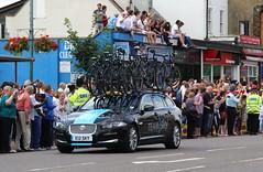 Canon EOS 60D - Tour De France 2014, Woodford - Team Sky Car (Gareth Wonfor (TempusVolat)) Tags: gareth tempus volat tempusvolat mrmorodo tourdefrance letour 2014 cycling woodford london stage3 spectate spectator speactators geotagged garethwonfor mr morodo wonfor