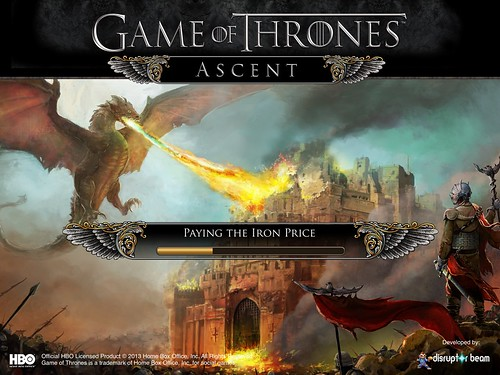 Game of Thrones Ascent Loading: screenshots, UI