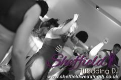 Andrew & Lauren McCambridge - Hellaby Hall - Black & White  Wedding Photos by Sheffield Wedding DJ 029