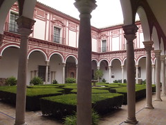 Museo de Bellas Artes - Plaza de Museo - Seville - courtyard gardens (ell brown) Tags: fountain gardens sevilla spain columns courtyard seville espana column andalusia museumoffinearts museodebellasartes no8do southofspain callealfonsoxii museumoffineartsseville museodebellasartessevilla plazademuseo