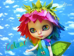 """Colour"" - my newest custom Flower-Blythe"