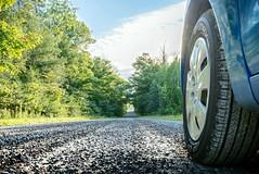 Linear Perspective (Jos Pockett) Tags: road ontario canada car vanishingpoint nikon gravel linearperspective d600 pfperspective14