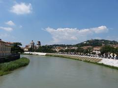 River Adige, Verona (Thomas Kelly 48) Tags: italy lumix panasonic verona adige pontepietra riveradige fz150