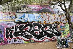 ZAME, ABUE, REF (STILSAYN) Tags: california graffiti oakland bay east area ref 2014 abue zame