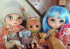the mooshkas with some Blythes