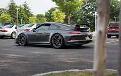 The New GT3 (akahn177) Tags: new old grey wing days clean porsche brakes americana rims brand 38 spoiler 991 gt3