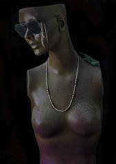 Venus Of The Sawdust (Bill Gracey) Tags: lighting woman art mannequin blackbackground nude venus decoration softbox spiderwebs softlight grassvalley sidelighting sawdust directionallight yn560 yongnuorf603n dondavenport venusofthesawdust