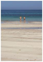 Sun Worshippers, Clashnessie (Gordon_Farquhar) Tags: ocean sea summer sun beach water scotland highlands sand rocks atlantic bikini trunks tanned assynt worshippers clashnessie