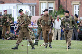 British Infantry Re-Enactors