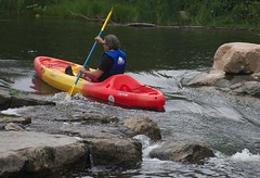 Summer Fun Day - Paddling the Huron (danbruell) Tags: summer fun kayak michigan annarbor canoe universityofmichigan teambuilding outting schoolofdentistry argopark