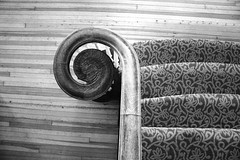 Top Down (Withered Perception) Tags: car stairs painting keys spiral hotel piano stairwell steam staircase stanley gauges haunter