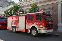 Cienfuegos (RayKippig) Tags: cuba firetruck firedept feuerwehr firedepartment cienfuegos kuba cuerpodebomberos howo sinotruk