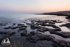 Tranquility (etunar) Tags: seascape sunrise landscape dawn coast cyprus coastline tranquil northcyprus rockycoast nikon1424