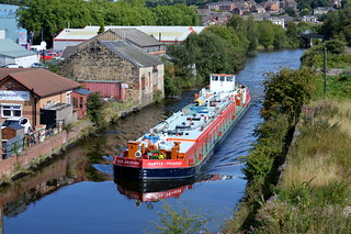 Humber Princess passing through Swinton, 28th Aug 2014.