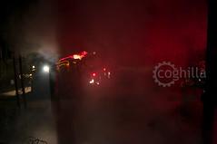 Exercise Capacity 2014 (coghilla) Tags: night rural training fire back exercise starter smoke burn permit qld handheld hr hazard capacity reduction rfs backburn rfsq qfes