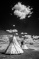 Arizona (Twinmama) Tags: arizona az nativeamerican infrared teepees p1080512