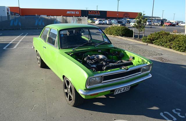 newzealand christchurch green landscape nz 1970 custom kiwi viva vauxhall christchurchnewzealand 1970vauxhallviva thecarsofchristchurch geriatrichoon