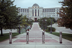 Michigan Hall of Justice (matthewkaz) Tags: building downtown michigan lansing government supremecourt 2014 capitalcity michiganhallofjustice michigansupremecourtbuilding