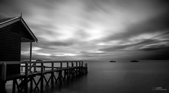 Shines From All Diriections (Laws Photography | www.lawsphotography.com) Tags: blackandwhite bw seascape beach monochrome clouds landscape boats movement long exposure fineart melbourne le shelly ndfilter daytimelongexposure nd10stop nd1000nd400 longexposurebwfineart shinesfromalldirictions