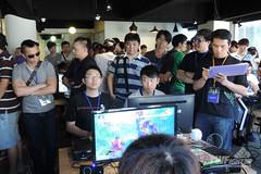 0078 (99999 PP) Tags: street xbox360 asia fighter tour taiwan xbox pro console ultra capcom shoryuken qualifiers twf razar twfighter