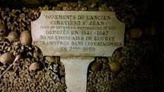 Catacombes of Paris (joanne-casey) Tags: paris france ancient bones montparnasse catacombes