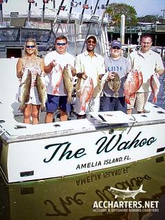 group fishing charters Amelia Island, FL