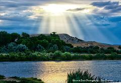 HEAVEN'S WINDOW (Aspenbreeze) Tags: storm nature water clouds rural reflections outdoors colorado heaven angelwings godrays lightfromheaven aspenbreeze moonandbackphotography bevzuerlein