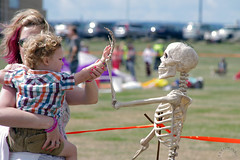 Kite Show Candid (Jainbow) Tags: show kite skeleton portsmouth southsea jainbow