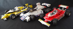 Brabham BT44B 1975 F1 (bricktrix) Tags: toys lego f1 legof1 brabham legocar brabhambt44b legobrabham
