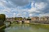 Lungo il Tevere (Andrea Rapisarda) Tags: bridge italy panorama rome roma clouds river nikon italia nuvole fiume ponte tevere paesaggio urbanlandscape d800 ©allrightsreserved nikon2470mm