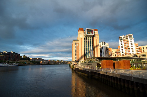 River Tyne from Millennium Bridge ©  Still ePsiLoN
